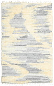 Barchi/Moroccan Berber - インド 絨毯 160X230 モダン 手織り ホワイト/クリーム色/薄い灰色/ベージュ (ウール, インド)