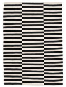 Moderno 絨毯 200X300 モダン 手織り 黒/暗めのベージュ色の (綿, インド)
