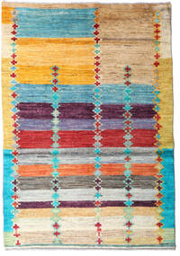 Moroccan Berber - Afghanistan 絨毯 120X173 モダン 手織り 暗めのベージュ色の/薄茶色 (ウール, アフガニスタン)