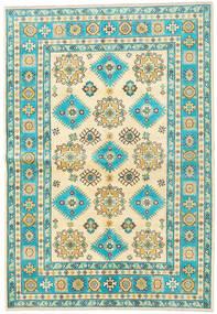 カザック 絨毯 172X248 オリエンタル 手織り ベージュ/暗めのベージュ色の (ウール, アフガニスタン)