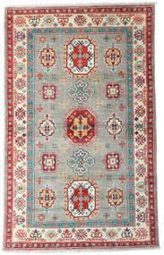 カザック 絨毯 96X155 オリエンタル 手織り 薄い灰色/ベージュ (ウール, アフガニスタン)