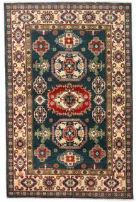 カザック 絨毯 120X184 オリエンタル 手織り 紺色の/深紅色の (ウール, アフガニスタン)
