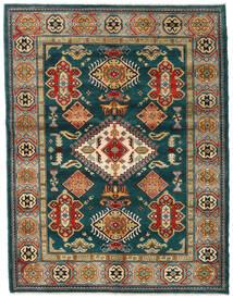 カザック 絨毯 155X203 オリエンタル 手織り 深緑色の/紺色の (ウール, アフガニスタン)