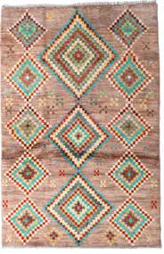 Moroccan Berber - Afghanistan 絨毯 91X138 モダン 手織り 濃い茶色/深紅色の (ウール, アフガニスタン)