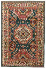 カザック 絨毯 119X183 オリエンタル 手織り 濃いグレー/赤 (ウール, パキスタン)