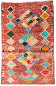 Moroccan Berber - Afghanistan 絨毯 90X138 モダン 手織り 錆色/ベージュ (ウール, アフガニスタン)