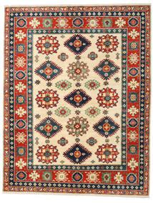 カザック 絨毯 158X203 オリエンタル 手織り 錆色/紺色の (ウール, アフガニスタン)