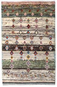 Moroccan Berber - Afghanistan 絨毯 88X135 モダン 手織り ベージュ/濃いグレー (ウール, アフガニスタン)