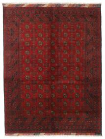 アフガン 絨毯 151X195 オリエンタル 手織り 深紅色の/濃い茶色 (ウール, アフガニスタン)