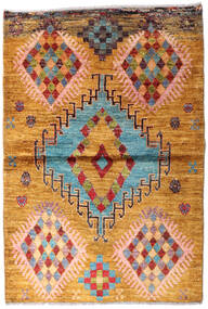 Moroccan Berber - Afghanistan 絨毯 94X139 モダン 手織り 薄茶色 (ウール, アフガニスタン)