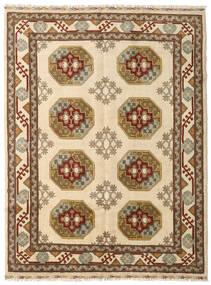 アフガン 絨毯 157X204 オリエンタル 手織り 茶/ベージュ (ウール, アフガニスタン)