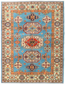 カザック 絨毯 151X196 オリエンタル 手織り 暗めのベージュ色の/濃い茶色 (ウール, アフガニスタン)