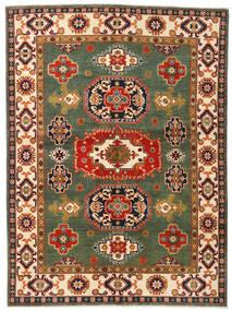 カザック 絨毯 155X211 オリエンタル 手織り 深緑色の/赤 (ウール, アフガニスタン)