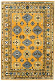 カザック 絨毯 199X296 オリエンタル 手織り オレンジ/濃いグレー (ウール, アフガニスタン)