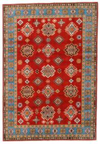 カザック 絨毯 197X289 オリエンタル 手織り 錆色/薄茶色 (ウール, アフガニスタン)