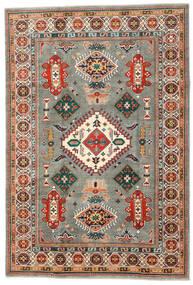 カザック 絨毯 201X295 オリエンタル 手織り 濃いグレー/ベージュ (ウール, アフガニスタン)