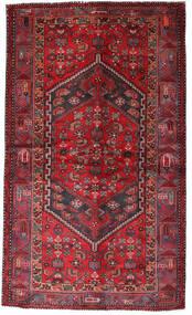 ハマダン 絨毯 135X228 オリエンタル 手織り 深紅色の/赤 (ウール, ペルシャ/イラン)