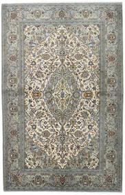 カシャン 絨毯 140X218 オリエンタル 手織り 薄い灰色/濃いグレー (ウール, ペルシャ/イラン)