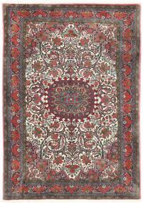 ビジャー Takab/Bukan 絨毯 113X153 オリエンタル 手織り 濃いグレー/深紅色の (ウール, ペルシャ/イラン)