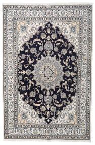 ナイン 絨毯 164X245 オリエンタル 手織り 薄い灰色/濃い紫 (ウール, ペルシャ/イラン)
