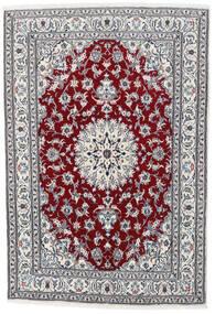 ナイン 絨毯 164X235 オリエンタル 手織り 薄い灰色/ホワイト/クリーム色 (ウール, ペルシャ/イラン)