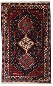 ヤラメー 絨毯 79X130 オリエンタル 手織り 深紅色の (ウール, ペルシャ/イラン)