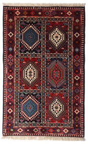 ヤラメー 絨毯 80X130 オリエンタル 手織り 深紅色の (ウール, ペルシャ/イラン)