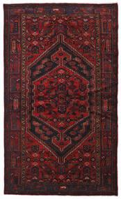 ハマダン 絨毯 134X226 オリエンタル 手織り 深紅色の (ウール, ペルシャ/イラン)