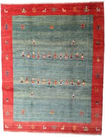ギャッベ Rustic 絨毯 263X335 モダン 手織り 深緑色の/薄い灰色 大きな (ウール, ペルシャ/イラン)