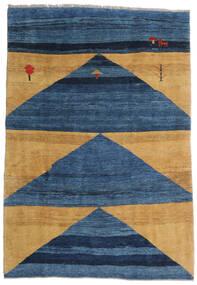 ギャッベ Rustic 絨毯 193X282 モダン 手織り 紺色の/青/薄茶色 (ウール, ペルシャ/イラン)