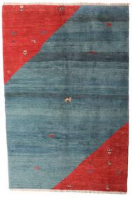 ギャッベ Rustic 絨毯 203X305 モダン 手織り 青/錆色 (ウール, ペルシャ/イラン)