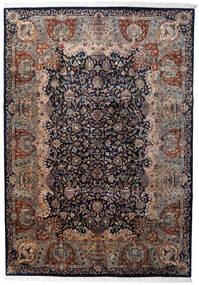 カシュマール インド 絨毯 245X348 オリエンタル 手織り 紺色の/濃い茶色 (ウール, インド)