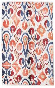 Sari ピュア シルク 絨毯 108X170 モダン 手織り ベージュ/ホワイト/クリーム色 (絹, インド)