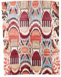 Sari ピュア シルク 絨毯 154X204 モダン 手織り ベージュ/ライトピンク (絹, インド)