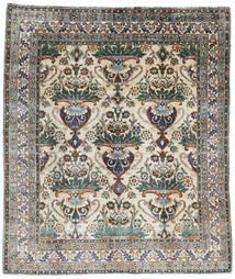 Sari ピュア シルク 絨毯 250X294 モダン 手織り 薄い灰色/濃いグレー 大きな (絹, インド)