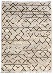 キリム Ariana 絨毯 154X210 モダン 手織り 薄い灰色/ベージュ (ウール, アフガニスタン)