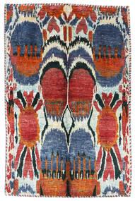 Sari ピュア シルク 絨毯 155X205 モダン 手織り 錆色/ベージュ (絹, インド)