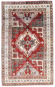 Sari ピュア シルク 絨毯 200X324 モダン 手織り 深紅色の/薄い灰色 (絹, インド)