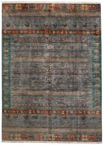 Shabargan 絨毯 210X289 モダン 手織り 濃いグレー/薄い灰色 (ウール, アフガニスタン)