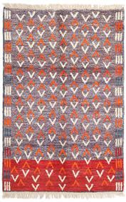 Moroccan Berber - Afghanistan 絨毯 115X180 モダン 手織り 薄紫色/ベージュ (ウール, アフガニスタン)