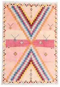 Moroccan Berber - Afghanistan 絨毯 170X247 モダン 手織り ライトピンク/ベージュ (ウール, アフガニスタン)