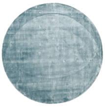 Broadway - 二級品 絨毯 Ø 300 モダン ラウンド 水色 大きな ( インド)