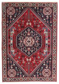 ギャッベ キャシュクリ 絨毯 100X142 モダン 手織り 紺色の/赤 (ウール, ペルシャ/イラン)