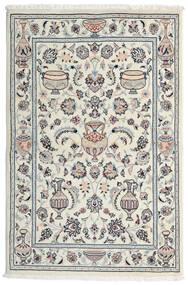 カシュマール 絨毯 101X154 オリエンタル 手織り 薄い灰色/ホワイト/クリーム色 (ウール, ペルシャ/イラン)