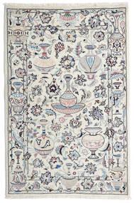 カシュマール 絨毯 105X157 オリエンタル 手織り 薄い灰色/ベージュ (ウール, ペルシャ/イラン)