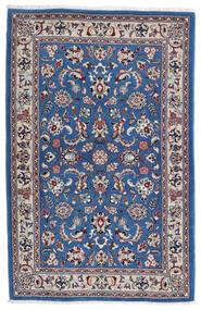 カシュマール 絨毯 105X160 オリエンタル 手織り 薄い灰色/紺色の (ウール, ペルシャ/イラン)