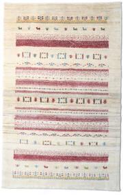 Loribaft ペルシャ 絨毯 95X150 モダン 手織り ベージュ/薄い灰色 (ウール, ペルシャ/イラン)