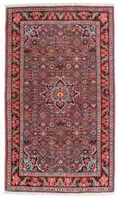 ビジャー 絨毯 84X134 オリエンタル 手織り 濃い茶色/深紅色の (ウール, ペルシャ/イラン)