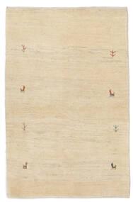 Loribaft ペルシャ 絨毯 78X122 モダン 手織り 茶/ベージュ (ウール, ペルシャ/イラン)