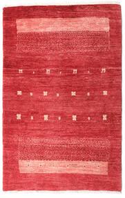 Loribaft ペルシャ 絨毯 83X130 モダン 手織り 赤/錆色 (ウール, ペルシャ/イラン)